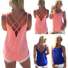 Sexy Women Summer Vest Top Sleeveless Blouse Casual Tank Tops T Shirt Clubwear