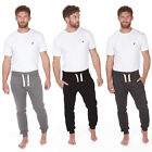 Mens Slim Fit Joggers Mens Skinny Fit Sweats Basic Black Grey Jog Pants Bottoms