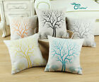 "Square Cushion Cover Throw Pillows Shell Home Decor Natural Old Tree 18"" X 18"""