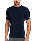 Внешний вид - ASICS Men's Compression Athletic Short Sleeve Running Shirt, Navy