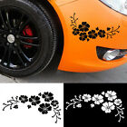 2PCS Flower Vinyl Car Decor decoration Sticker Decal window Graphics New