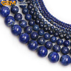 Wholesale Natural Gemstone Lapis Lazuli Stone Loose Beads For Jewelry Making 15""