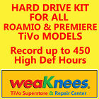 TIVO HARD DRIVE UPGRADE/REPAIR KIT FOR HIGH DEFINITION TIVOs-6 MONTH WARRANTY!!