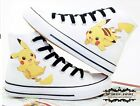 2016 Anime Fashion Fans Canvas Shoes Pocket Monster Pikachu  Sneaker 7color NN