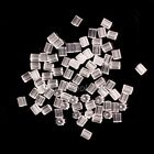 500/1000Pcs Rubber Earring Back Stoppers Ear Post Nuts Jewelry Findings 3.5mm