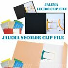 Lucido Clip & Secolor Combi File Ideal for Home,School & Office Stationary