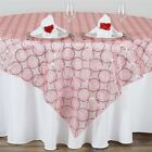 """36 x Wholesale Lot CIRCLE SEQUIN 14x108"""" TABLE RUNNERS We..."""
