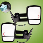 for 03-06 Silverado Tahoe Pickup Towing Mirrors Tow Power Heated LED Signal Pair