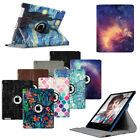 For Apple iPad 2/3/4 Rotating Leather Case with Auto Wake/Sleep Smart Cover