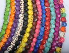 10X12mm turquoise Skull beads charms 12COLORS