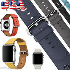 Single Tour Genuine Leather Band Bracelet Watchband For Apple Watch 38mm/42mm