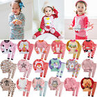 """G.50S Style"" Vaenait Baby Kids Toddler Girls Long Clothes Pyjama Set 12M-7T"