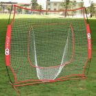 7×7' Baseball Softball Practice Hitting Batting Training Net Bow Frame US SHIP