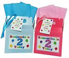 Personalised Kids age 1st 2nd 3rd 4th 5th Birthday Party Favour Lunch Gift Box