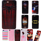 Cool Embossed Avengers Character Symbol TPU Back Case Cover For iPhone 7 7 Plus