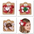 Mud Pie Holiday 3 in 1 Christmas Hair Bow