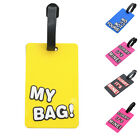 Portable Travel Suitcase Luggage Tag Name ID Address Holder Identifier Label MN