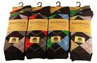 12 PAIR Stylish ARGYLE Premium Quality Socks. Mixed colors. UK 6 -11/ EU49 - 46