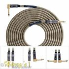 Lava Cable Vintage Tweed Guitar Cable | Premium Series | 20 ft - 30 ft G&H Plugs