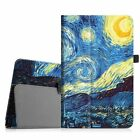 For Sprint Slate 10 Inch (AQT100) Tablet PU Leather Folio Stand Case Cover