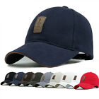 Cotton Baseball Cap Sports Golf Snapback Outdoor Simple Solid Hats For Men EW