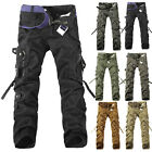 2016 New Army Men's casual Cargo Camo Combat Work Pants Military Long Trousers