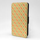 Vintage Art Print Design Pattern Flip Case Cover For Sony Xperia - P601