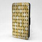 Disc's Print Design Pattern Flip Case Cover For Sony Xperia - P651