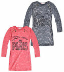 Girls Long Sleeved Love Paris Dress New Girls Tunic Slogan Dresses 3-12 Years
