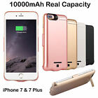 10000mAh External Power Case Battery Charger Charging Cover For iPhone 7/7 Plus