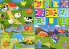 Childrens Kids Wooden Shape Block Jigsaw Puzzle Toddler Learning Educational Toy