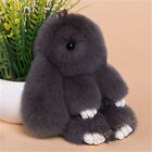 Rex Rabbit Fur Car Bag Pendant Keychains Doll Bag Decoration
