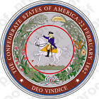 STICKER Confederate States Of America