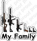 Sticker My Gun Family