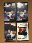 4 Audio Cassettes - LOUIS ARMSTRONG - Hello Dolly 1 & 2, C'est si bon etc VG