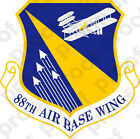 STICKER USAF 88TH AIRBASE WING