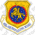 STICKER USAF 452nd Air Refueling Wing