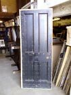 "RECLAIMED 4 PANEL PINE DOOR  79 3/4"" H 31 3/4""W  ref x11"