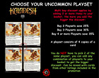 MTG Kaladesh KLD Choose your Uncommon Playset (x 4 cards) (A-G) 1st Class Post