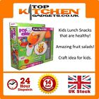 Pop Chef ✰ Fruit Salad Food Shapes Kids Lunch Box ✰ Festive Party Cookie Cutter