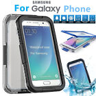 SnowProof Waterproof Dirtproof Case Cover for Samsung Galaxy S7 edge S6 edge+