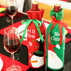 1 Pcs Santa Claus Snowman Wine Bottle Cover Bag Christmas Dinner Xmas Decor MO