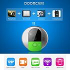 Wireless Remote Video IR Camera Phone Doorbell Home Security Intercom UK/US Plug