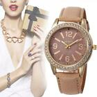Fashion Women's Watches Stainless Steel Analog Sport Leather Quartz Wrist Watch