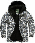NEW SOUTH PLAY Mens Ski SnowBoard Jacket Jumper Parka Coat Outwear W16 MILITARY