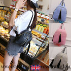 Women Ladies Backpack Faux Leather Shoulder Bag Schoolbag College Small Rucksack