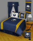 Buffalo Sabres Comforter Sham and Bedskirt Twin Full Queen King Size