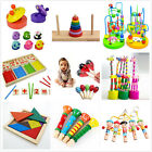 Wooden Toy Gift Baby Kids Intellectual Developmental Educational Early LearningQ