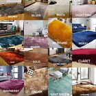 Modern Thick Soft Quality Shaggy Large Rug in Various Colours and Various Sizes