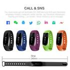 "ID107 Middle Rate Smart Bluetooth Sport Watch Wristband Bracelet 0.91"" Best A4B8"